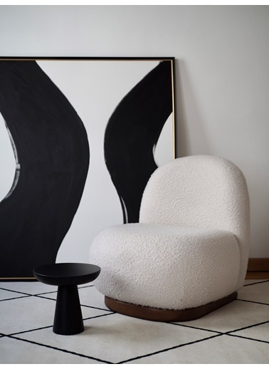 Tucas Home Mushroom 4 Siyah Siyah